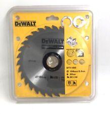 DeWalt DT1150-QZ Circular Saw Blade 184mm x 30 x 30T