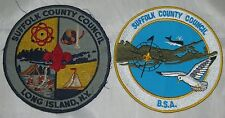 Suffolk Co Council (NY) Lot of 2 Jacket Patches  BSA  #059