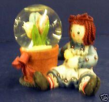 Enesco Raggedy Ann Figurine- New in Box- Retired- #709174- Snowglobe