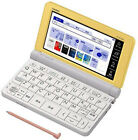 Casio Electronic Dictionary EX-Word XD-SR4800YW Yellow Learn Japanese Japan