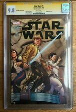 Star Wars #1 John Cassaday Wraparound Variant CGC SS 9.8 Stan Lee