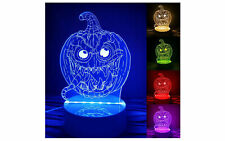 Halloween Pumpkin Skull Witch Ghost  Light Lamp Party Decor LED Lantern 3D USB