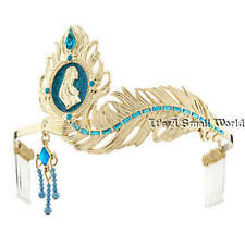 Disney Store Princess Pocahontas Cameo Metal Tiara for Girl Golden Feather NWT