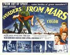 Invaders From Mars Poster 05 A2 Box Canvas Print