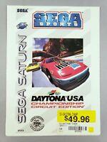 Daytona USA - Toys 'R' Us Display Card - Sega Saturn - VidPro - RARE