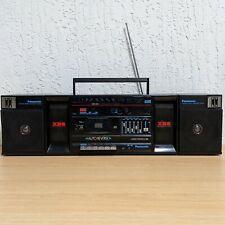 Vintage Panasonic RX-C38 Stereo Cassette Boombox Extra Bass Am/Fm Cassette Japan