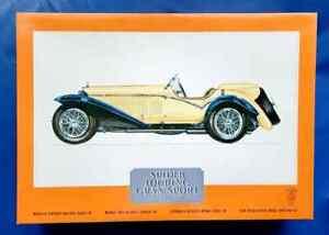 Pocher 1932 Alfa Romeo Spider Touring Gran Sport Model w Sealed Parts NIOB