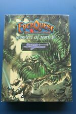 Everquest Role-Playing Game Rpg Monsters Of Norrath Hc Sword & Sorcery Rare Oop