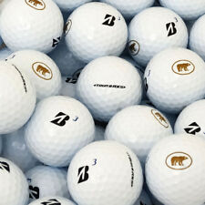 3 Dozen NEW Bridgestone Tour B RXS Bulk Golf Balls - White Golden Bear Logo