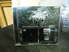 Darkthrone:  CD Like New 2 on one Blaze in the northern Sky 7 Preparing War 1