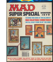 Mad Magazine Super Special #29, Winter 1979, Complete With Cards, ~Fine