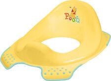 Winnie Pooh Baby Kinder WC Sitz  gelb Toilettentrainer  Toilettenaufsatz