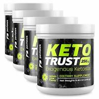 ▶4 Pack Perfotek Keto Powder Weight Loss Supplements with BHB and Electrolytes