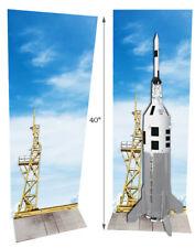 Estes Rocket Little Joe Launch Tower. poster for model display