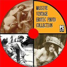Great Vintage Erotic Photographic Image Collection Nostalgic Semi Nude Art PCCD