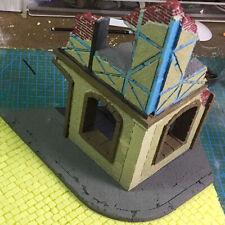 Militärgebäude Modellbausätze Ruinen für Dioramen Sandtisch DIY