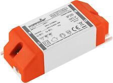 Poppstar - Ballast 12V pour LED, Transformateur 230V AC / 24V DC 0.625A 15W
