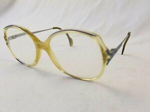 Vintage Metzler 0303 Eyeglasses Frames 361  135MM Germany plastic oversize