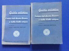 Guida sciistica della catena del Monte Bianco e delle valli Attigue, Sci, 1939