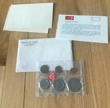 1965 Turkey Uncirculated Coin Set