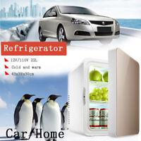 4/8L/10L/22L Portable Refrigerator Fridge Travel Auto Car Freezer Cooler Warmer