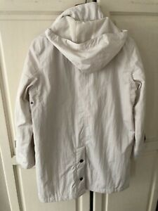 Hooded Jacket- Lightweight, 'Four Seasons' size M cream