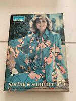 1975 Montgomery Ward Spring and Summer Catalog