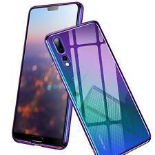 Farbwechsel Handy Hülle für Huawei P30 Lite Slim Case Schutz Cover Tasche Etui