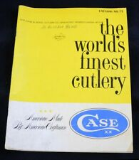 Vintage 1971 Case Knife Catalog No. 71: The World'S Finest Cutlery