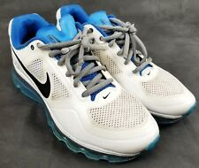 8e3f391bff NIKE AIR TRAINER 1.3 MAX 360 RUNNING SHOES WHIT BLUE 512241-104 SIZE 9.5 TR1