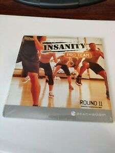 BEACHBODY Insanity Pro Team Instructor CD DVD w Choreography Notes Round 11 NEW