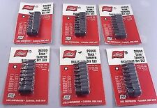 Wholesale Lot / 6 Lisle 26000 7 PC Tamper Resistant Bits