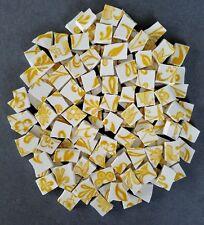 Vintage Maize Floral Mosaic Tiles