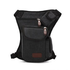 Unisex Men Sport Multifunction Canvas Waist Leg Bag Outdoor Hiking Chest Bag Lot