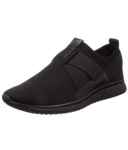 Men Cole Haan Grand Motion Stitchlite Slip-on Sneakers Shoes Black/Black C28878