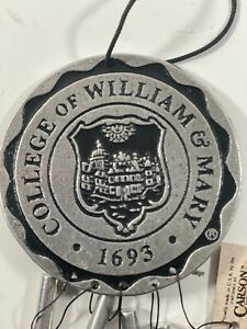 1994 Carson College Of William & Mary Wind chime NWT