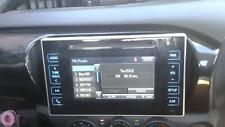 TOYOTA HILUX STEREO/HEAD UNIT 6IN TOUCHSCREEN (P/N ON FACE 100402), 09/15- 15 16