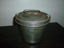 Vintage Antique German Steamed Pudding Mold, Bundt Pan, Germany