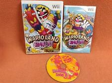 Wario Land Shake It Nintendo Wii Game Super FREE SHIP Complete!