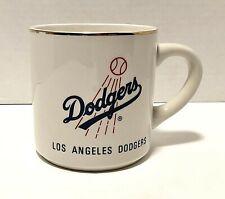 Vintage Los Angeles Dodgers Baseball Coffee Mug Lewis Bros Ceramics 12 oz
