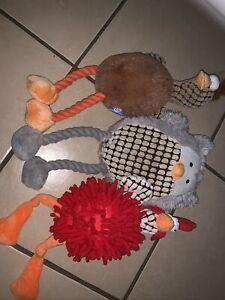 Dog Toys Bundle Used Unwanted Pooch Large Dog Good Boy Novelty Activities Birds