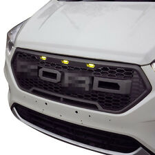 2016-2017 Ford Escape Raptor Style Front Overlay Grill Mesh Grille w/ LED Lights