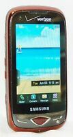 Samsung SCH-U820 Reality Verizon CITY RED Cell Phone side-keyboard touchscreen B
