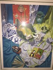 """Nancy Hagin """"East of Suez"""" serigraph on paper 1987 #187 of 200 Limited Edition"""
