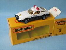 Matchbox Datsun 280ZX Police Fairlady Japanese Issue Box Toy Model Car 78mm 44
