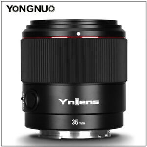 YONGNUO YN35mm F2S DF DSM Wide Angle Full Frame Auto Focus Lens For Sony E-Mount