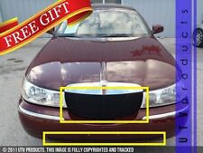 GTG 1998 - 2002 Lincoln Town Car 2PC Gloss Black Replacement Billet Grille Kit