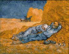 'Il riposo quadro - Stampa d''arte su tela telaio in legno'
