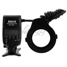 Meike LED E-TTL Macro Ring Flash For Canon 5D II III 6D 7D 60D 70D 700D MK-14EXT