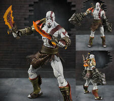 Ultimate Kratos NECA God of War 3 Ghost of Sparta Figure Figurine No Box